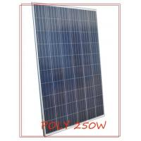 Waterproof life of 5-15years Polycrystalline pv module 250W with anodized aluminum frame