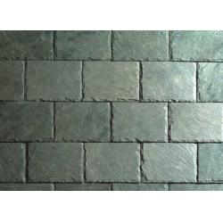 China Light Green Slate Roof Tiles Green Roof Slates of 400x200 400x250 500x250mm on sale