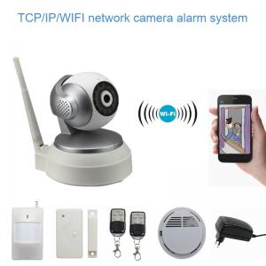Smart Wifi IP Camera , TCP / IP / WIFI CCTV Camera App Control