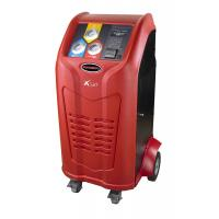 Built in Printer Portable Refrigerant Recovery Machine SD Card Database