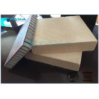 Ultra Thin Travertine Stone Honeycomb Composite Panels 900 X 1500mm