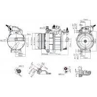 7SBH17C automobile ac compressor for Ford C-max S-max focus Monde 4472807070 AV6119D629HA 1786888 4471605940 F1F119D629H