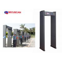 High Sensitivity Hotels security Walk Through Metal Detector Gate factory