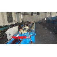Customize Insulated PU Roller Shutter Door Roll Forming Machine With Chain Transmission