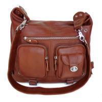 Lady Style Great Leather Trendy Design Backpack Messenger Bag Handbag #2353
