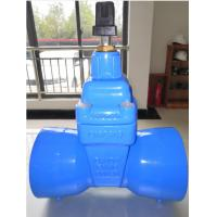 DN100 Dcutile Iron Socket End Resilient Seated Gate Valve for DI Pipe PN16