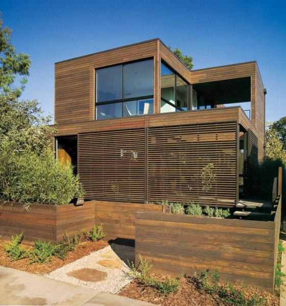 Brown Prefab Pvc Wpc Houses Panel Decorative Exterior Siding Resistant To Moisture Wpcboard