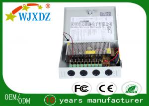 9 Channel 120 Watt AC DC Switching Power Supply For CCTV Camera Power Supplies