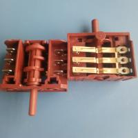SD Series Multi Position Rotary Switch 3 / 4 / 5 / 6 Position For Oven