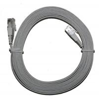 Flat Cable CAT.5E Ethernet Patch Cables Easy Be Hidden Under Carpet 10m Patch Leads