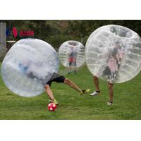 CE 1.2m Pvc Inflatable Sports Equipment Football Suit Human Hamster Ball