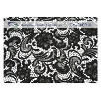ODM / OEM Embroidered Lace Fabric For Bag , Trousers CY-CX0010