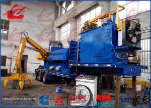 Customized Portable Hydraulic Non Metal Scrap Baler Logger With Tailer Remote Control Diesel Engine Drive