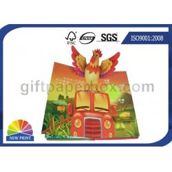 china custom pop up book printing services children reading book printing for 3d book on - Printing With Children