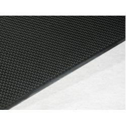 China Black High tensile strength 1mm Carbon Fiber Plate for model aircraft on sale