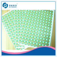 Green Customized Printed Self Adhesive Labels Sticker For Trademark
