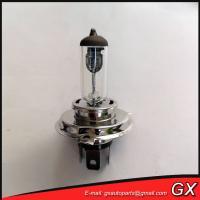 Auto light bulb H4 automobile halogen quartz light bulb H4 12V 60/55w P43T automobile headlight clear light