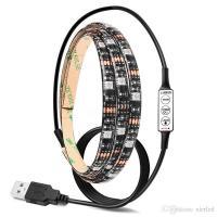 USB RGB/Warm/Cool White SMD 5050 LED Strip Light Waterproof String Lamp 2m/1m/0.5m