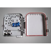 FTTB Ultra Violet Resistant Mini 16 Core ST / LC Fiber Optic Terminal Box