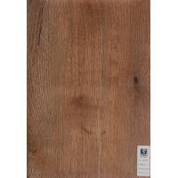 Vacuum Press Oak Matt PVC Wood Grain Film For Floor , Opaque Vinyl Laminate Flooring