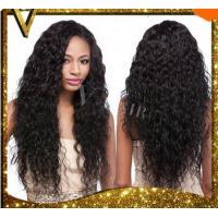Glueless Full Lace Human Hair Wigs Wavy Lace Front Wigs Unprocessed Virgin Brazilian Water Wave For Black Women