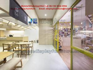 Cake Store Daily Necessities Shop Interior Design Wood