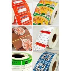 China Wholesale Thermal Self-adhesive Labels Paper Rolls Self-adhesive Stickers on sale