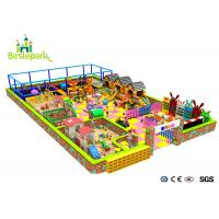 Building Block Park Kids Indoor Playground Puzzle Environmently Friendly