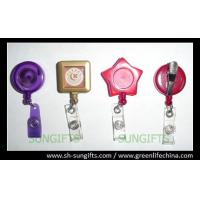 Custom color/design badge reel, ID retractor, fashion ID accessories