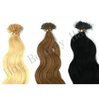 Customized 100 Remy Pre Bonded Hair Extension Straight OEM ODM
