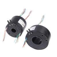 JINAPT Through Bore Slip Ring 6 Circuit 5 A Per Circuit For Filling Machine
