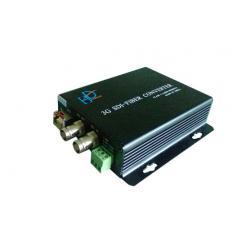 China 1/2/4- Channels SDI Fiber Converter , Fiber Optic Video Converter LC Connector on sale