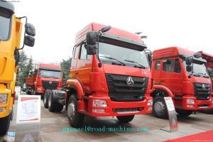 6 X 4 SINOTRUK HOHAN TRACTOR TRUCK 371HP Euro II / EURO III emission standard