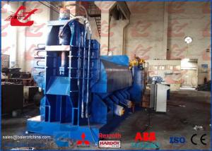 Stationary Hydraulic Metal Scrap Baler Logger Full Automatic
