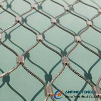 Stainless Steel X-Type Ferruled Mesh With SS316 for Architectural or Fencing