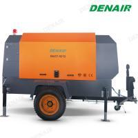 265 Cfm Diesel Oil Gas Mobile Screw Air Compressor for Sandblaster