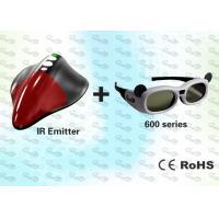 External 3D Shutter Glasses and SYNC Emitter for PC
