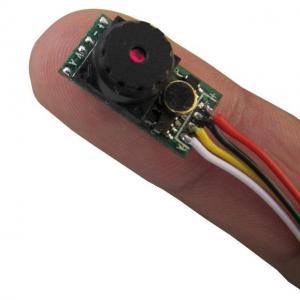 Single Chip 1/3 CMOS 520TVL Mini CCTV Camera Tiny Hidden Cameras