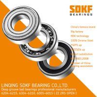 SDKF 6204 high speed motor bearings deep groove ball bearing