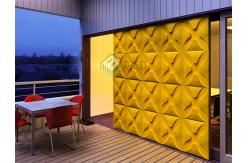 panneau de mur d coratif insonoris du pc 3d de relief. Black Bedroom Furniture Sets. Home Design Ideas