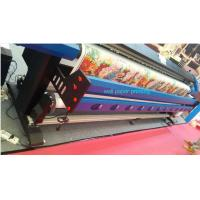 3.2M Wall Paper Eco Solvent Printer in 2 pcs DX5 Head CMYK 4 Color