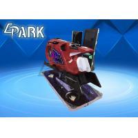 Red Motorbike 9D VR Simulator Virtual Reality Driving Car Racing Game Machine