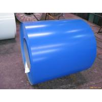 Blue ASTM A653 PPGI Prepainted Galvanized Steel Coil For Roof 0.15 - 2.0mm Thickness