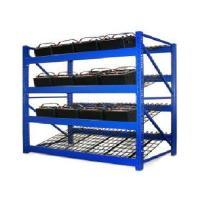 Wire Mesh Heavy Duty Battery Storage Rack Solar Energy Storage System