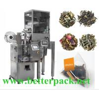 Auto pyramid tea packaging machine triangle tea bag machine
