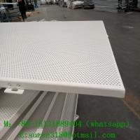 perforated aluminum ceiling tiles /  aluminium perforated panels