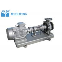 Heating Vertical Centrifugal Oil Pump Diesel Engine Driven With Electric Motor