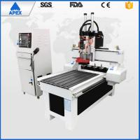 High Stable Wood Carving Diy Cnc Machine , AC220V / 380v 4.5kw Small Computerized Woodworking Machines