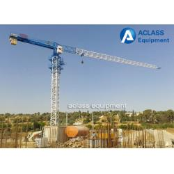 China Topless 5 ton 50m Jib Tower Crane Machine For Lifting Construction Equipment on sale