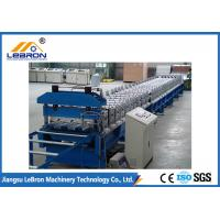 PLC control automatic new floor deck roll forming machine 2018 new type roof tile machine Blue color